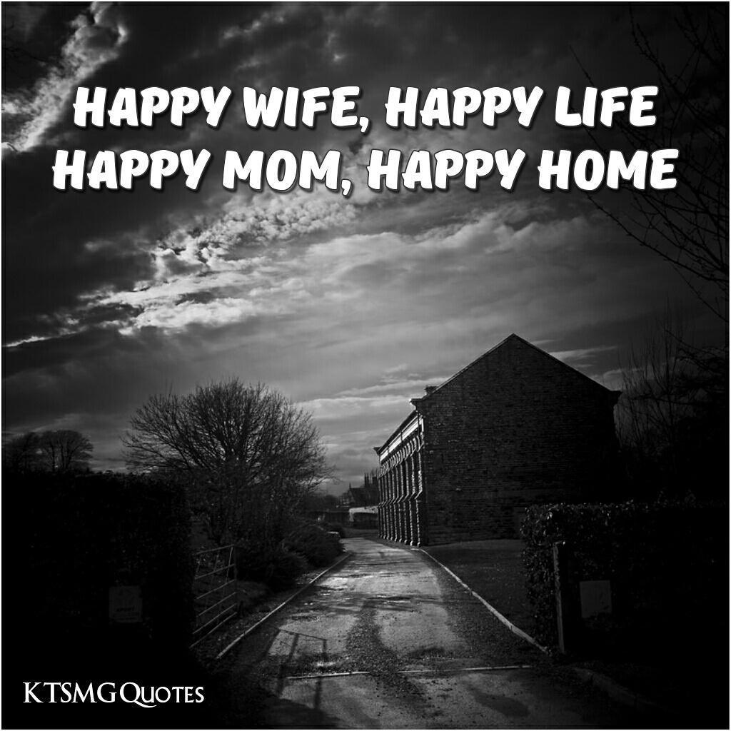 Wright Thurston On Twitter Happy Wife Happy Life