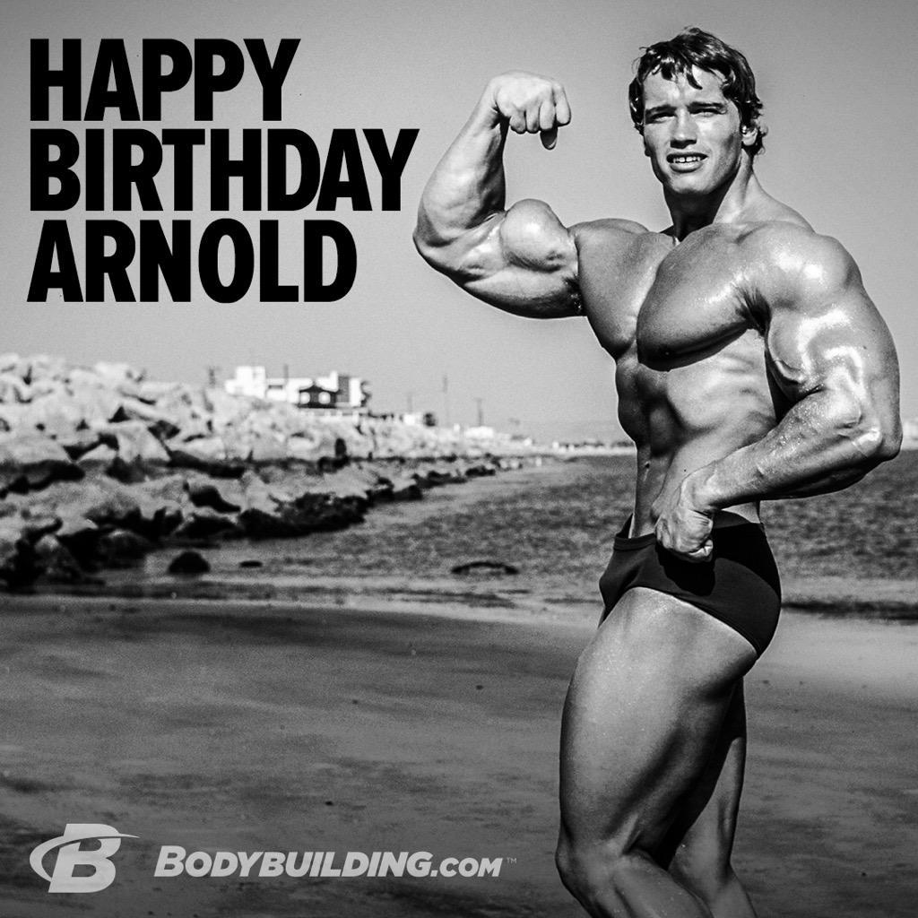 Bodybuilding Com On Twitter Rt For The Goat Happy Birthday Schwarzenegger Http T Co Rfjxghqcgr