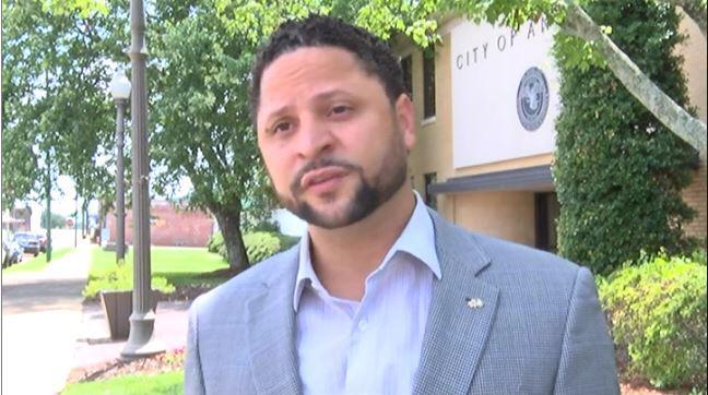 David Reddick Alabama Democrat arrested for harassment over Confederate flag