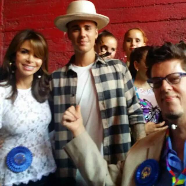 Me, @justinbieber and @musical_wheels at @LA2015! GREAT EVENT! xoP #ThrowbackThursday #ReachUpLA @SpecialOlympics http://t.co/DCsTFGjRYu