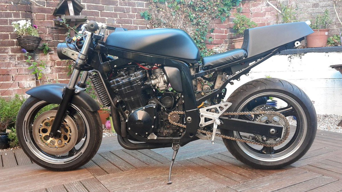 Gsxr 750 Suzuki T Cars 1988 Slingshot Wiring Diagram Project Uk On Twitter Streetfighter Dot Head Engine Unfinished Http Tco 5xddhro6yi