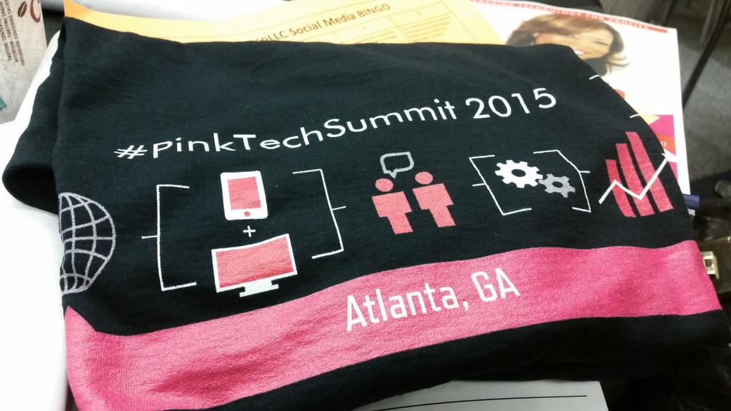 Great time at #pinktech2015. Thanks for a great conference @thepinkmogul! Thanks for the invite @JaiStone! http://t.co/YxH4S0FZFW