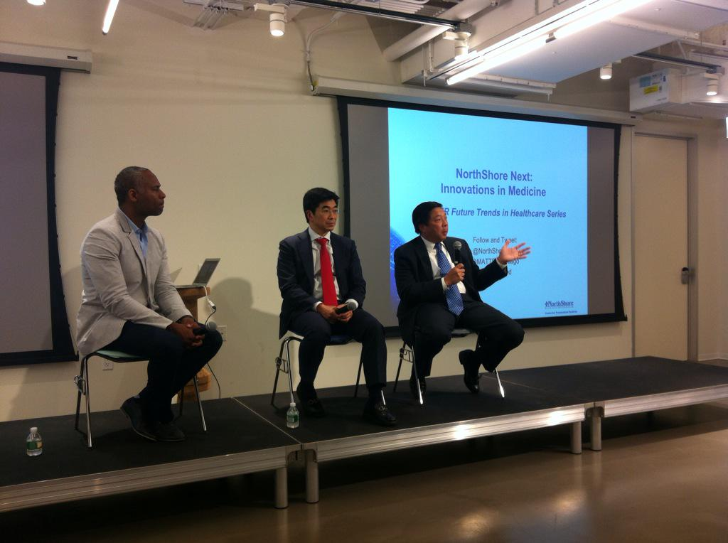 Q&A panel: #regenerative medicine #Healthcare @northshoreweb @matterchicago #nsnextmed http://t.co/3lTLx2ea81