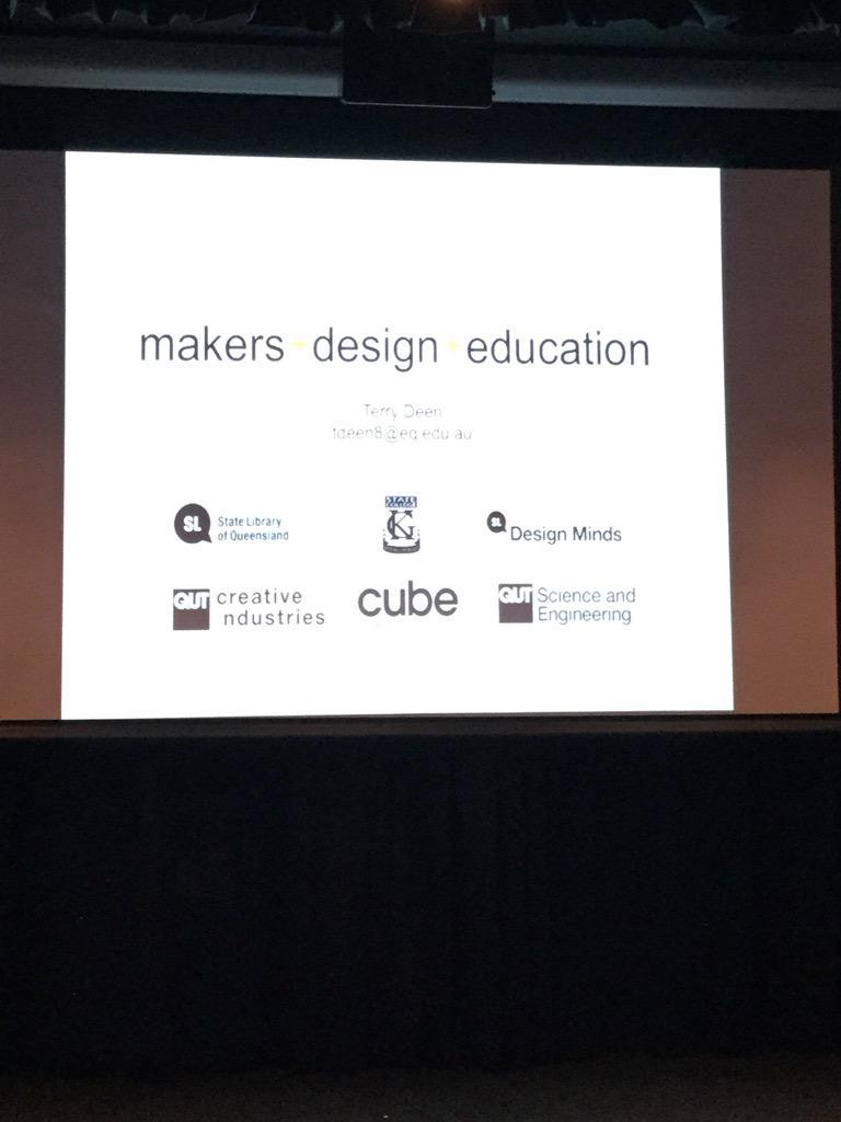 @tdeen8 giving us a teachers perspective on #mobilemakers in a high school context http://t.co/eAdgLUUzXD