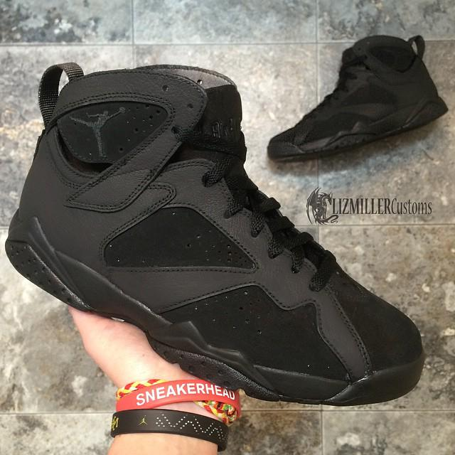 "Sneaker Shouts™ on Twitter: ""Custom Air Jordan VII ""Matte"
