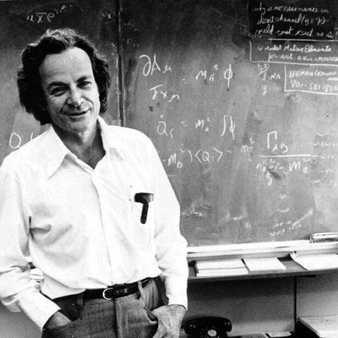 The Feynman Algorithm: 1. Write down the problem. 2. Think real hard. 3. Write down the solution. http://t.co/eroncuqpsx