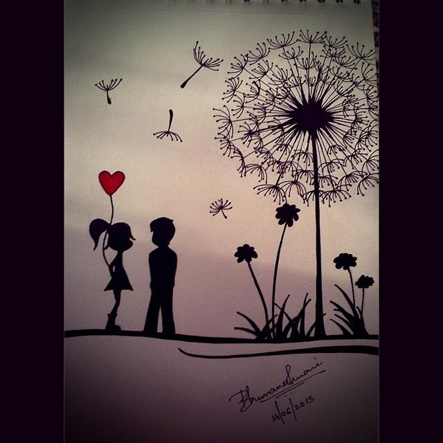 Bhuvaneshwari Nadar On Twitter Cute Love Drawing Art Artist Romantic Love Cutelove Boygirl Redheart Http T Co 2zrcwzivg4