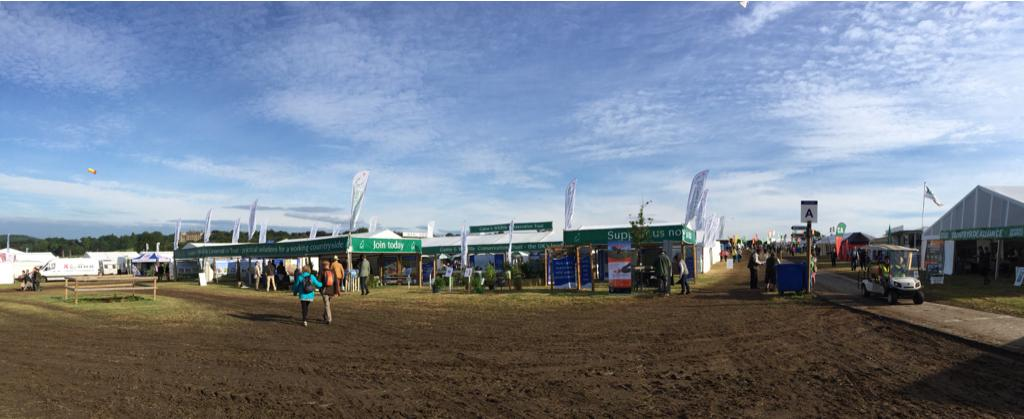 Lovely morning for the start of @TheGameFair http://t.co/CknDhYrJxA