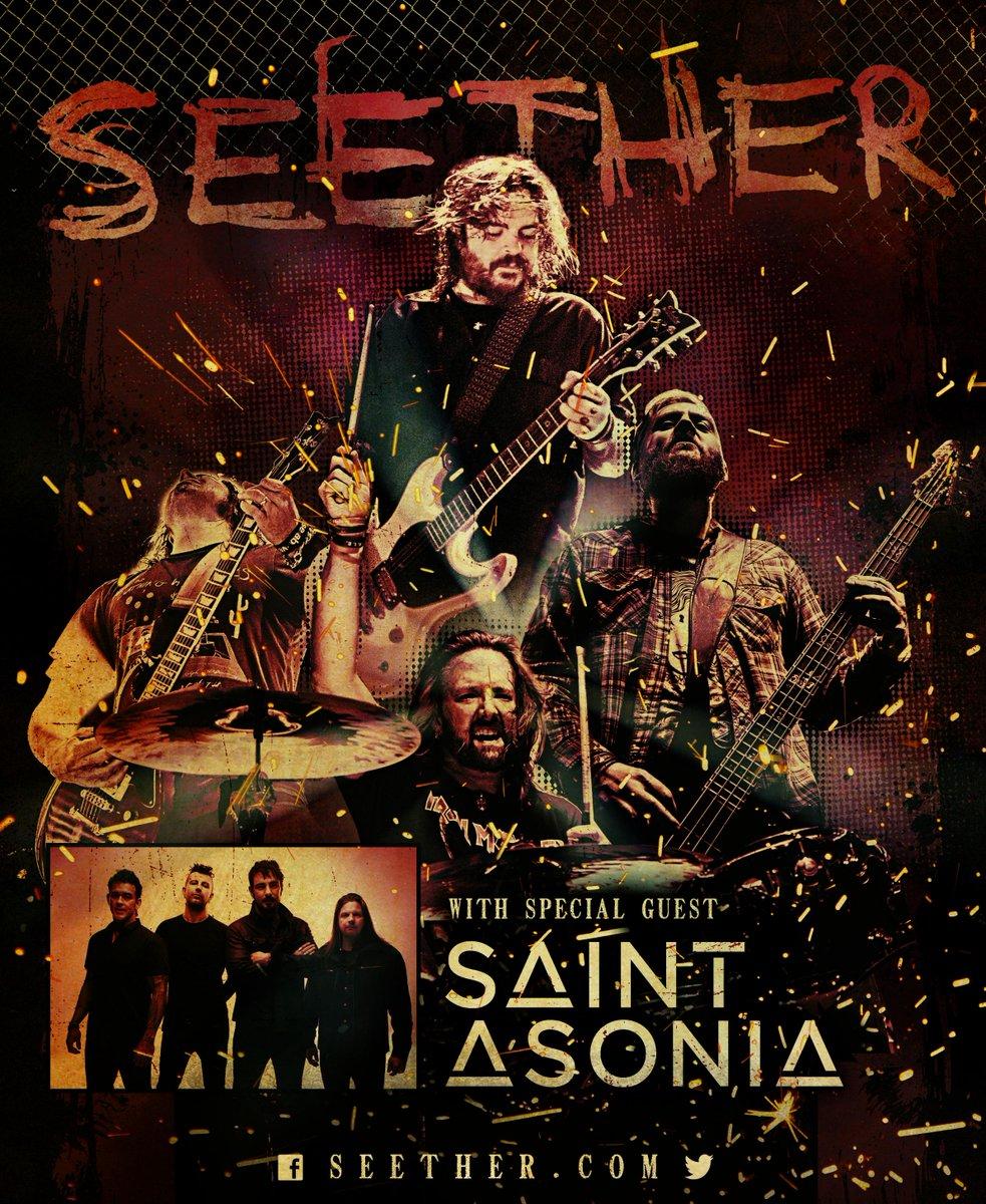 Seether Saint Asonia Tour 2015