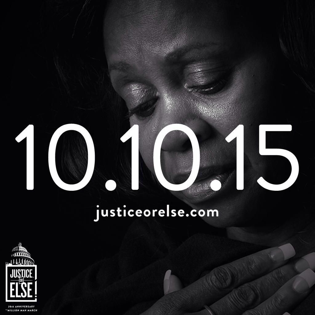 #Farrakhan : I am asking every mother who has lost a child to violence to come to 10-10-15. #JusticeOrElse http://t.co/JLtVmTmJAz