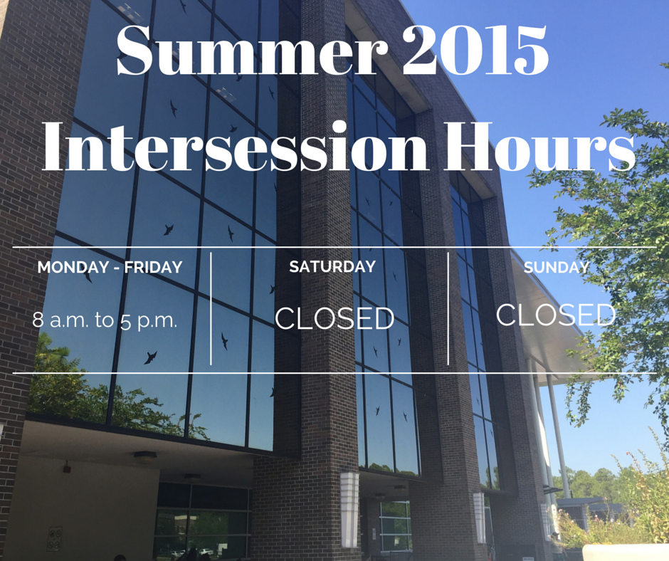 Unf Library On Twitter Our Hours For Intersession Are Mon Friday