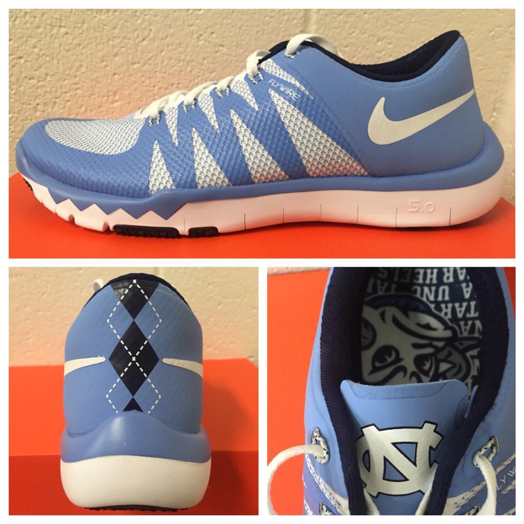 2b00031c039c1 ... trainer 5.0 v6 unc tar heels 46ded 1b64d  switzerland unc equipment on  twitter the new custom nike free shoe for tarheelfootball this fall.