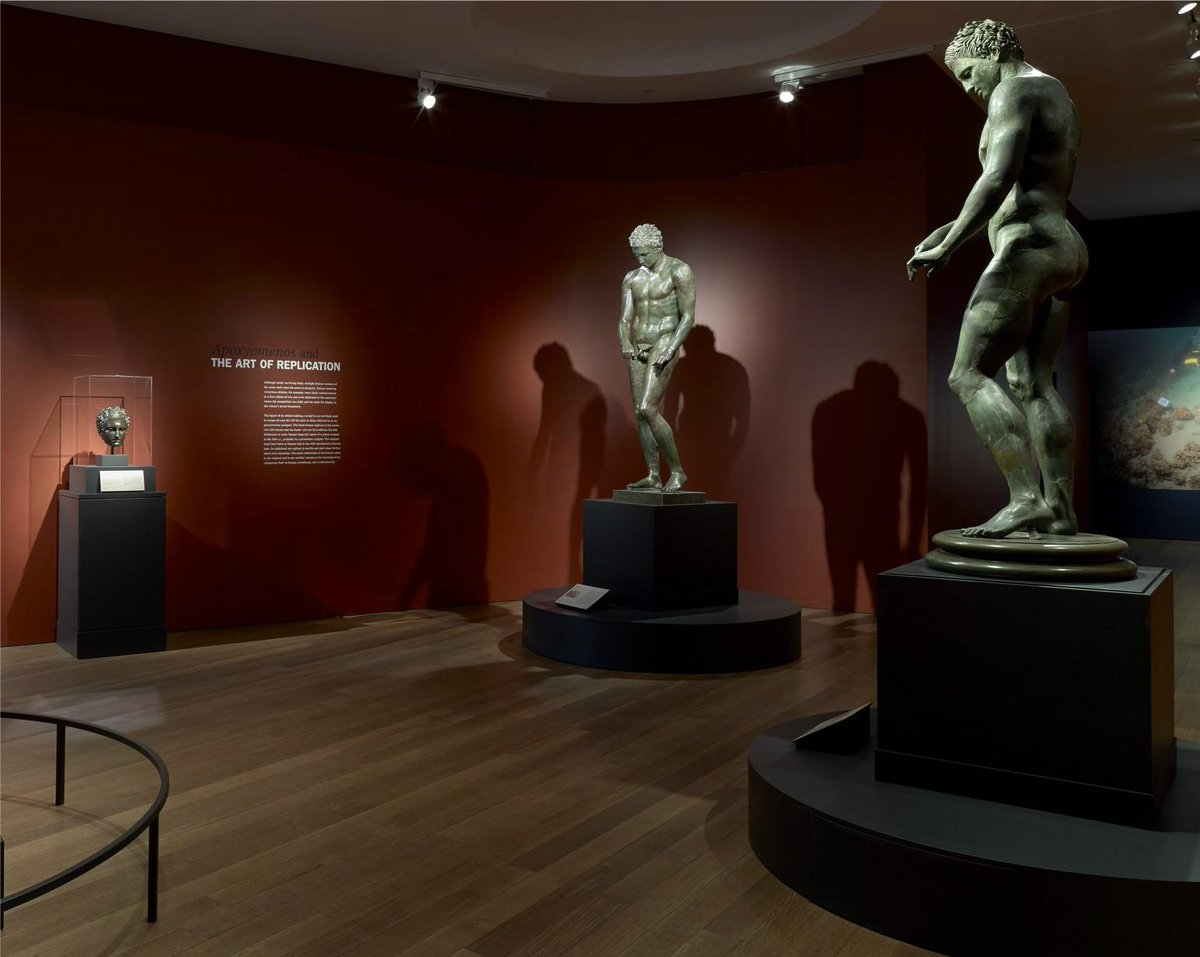 Light is a surprising revelation in @GettyMuseum 's great Hellenistic bronze sculpture show. http://t.co/Mdoiu3pnWh http://t.co/kPRnY4Qdfv