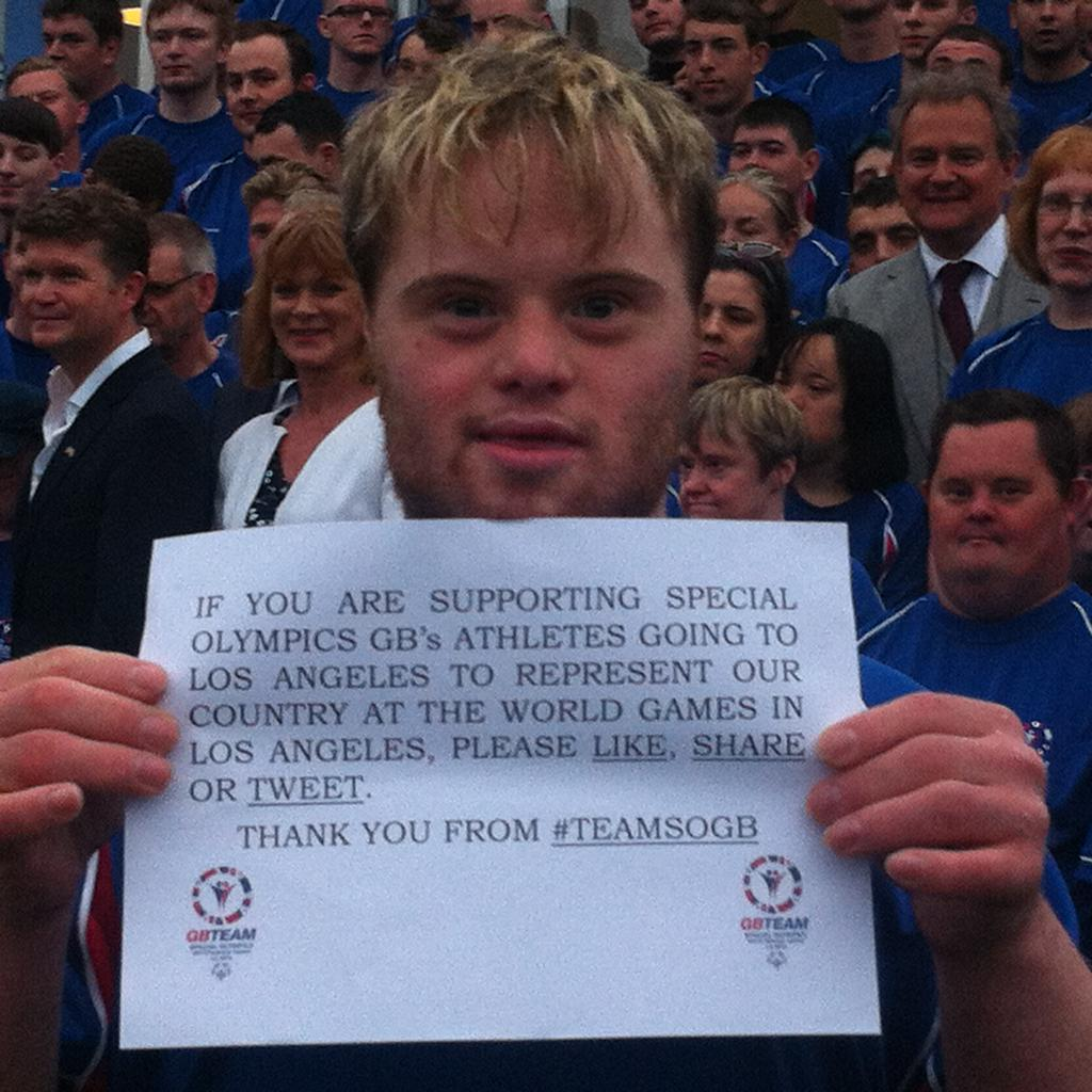 Special Olympics -  http://t.co/LaFGFyaDle http://t.co/eNu6DxbSHX