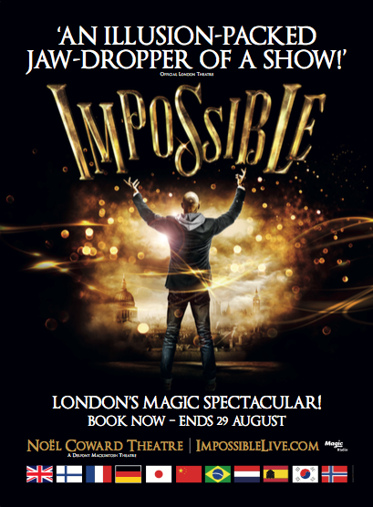 RT @ImpossibleShow: More stars than you can shake a wand @ last nights @ImpossibleShow Hear what they had to say- https://t.co/BAncu1u7qc h…