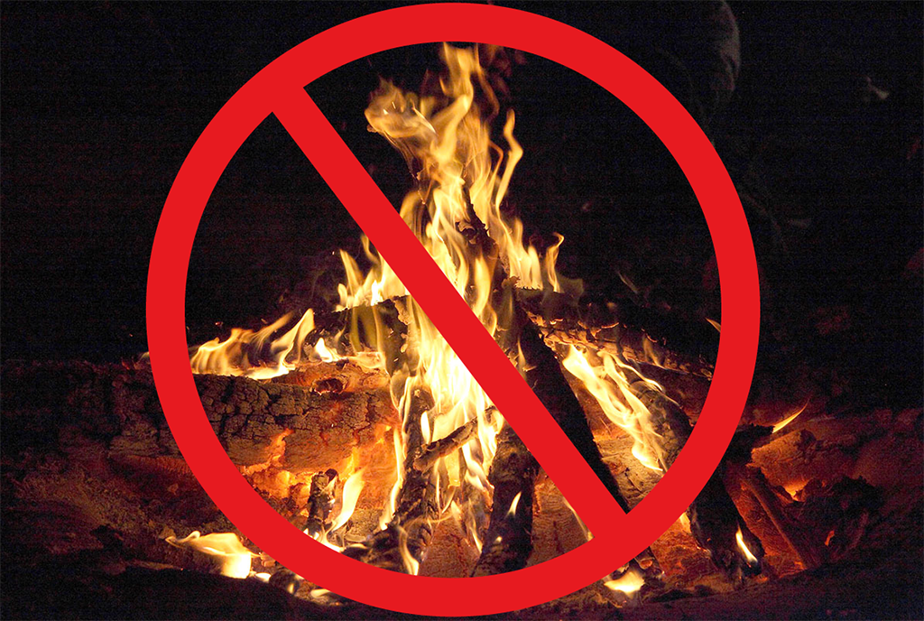 Reminder: Campfires are still NOT allowed in WA state parks. #WaWildfire #BurnBan http://t.co/3gKtv6wQFc