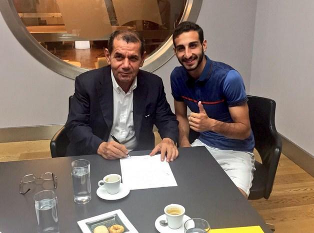 OFICIAL: Galatasaray anuncia o meia José Rodriguez, ex-Real Madrid