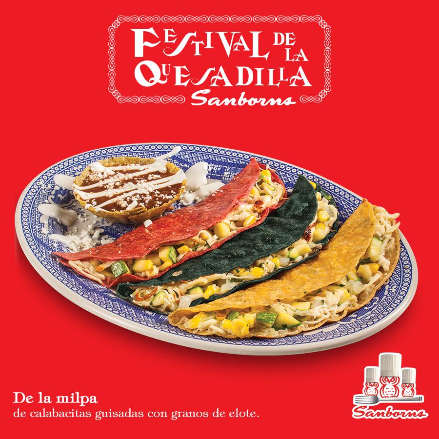 Sanborns on twitter el festival de la quesadilla tambi n for Sanborns de los azulejos tiene estacionamiento