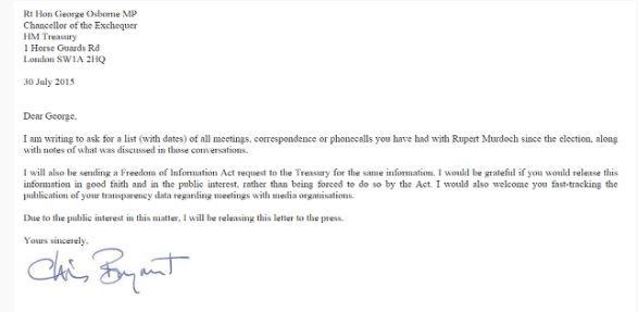 RT @jpublik: Corporatism in Action: Murdoch & Osborne secret meeting to stitch up BBC. Chris Bryant letter https://t.co/jZeC1Sp0dm http://t…