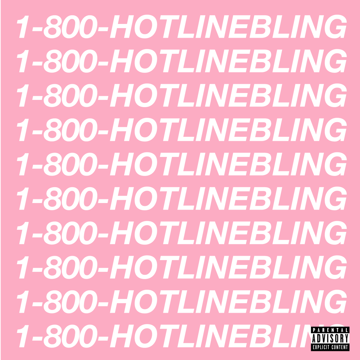Drake ~ Hotline Bling now available on iTunes. https://t.co/zmGm4dNE5j http://t.co/JDFLs8vUxD