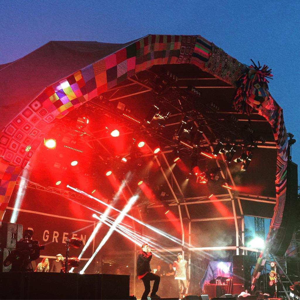 RT @CharAimeeClarke: Such an energetic and personal performance by @professorgreen @campbestival http://t.co/FwBKUxELMw