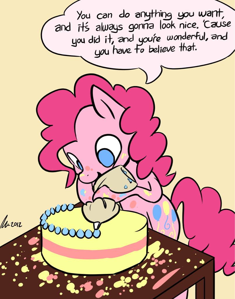 ((If you're feeling down today, here! If you know somepony who's feeling down, give them this!)) #smilesmilesmile http://t.co/rlflMt0VLl