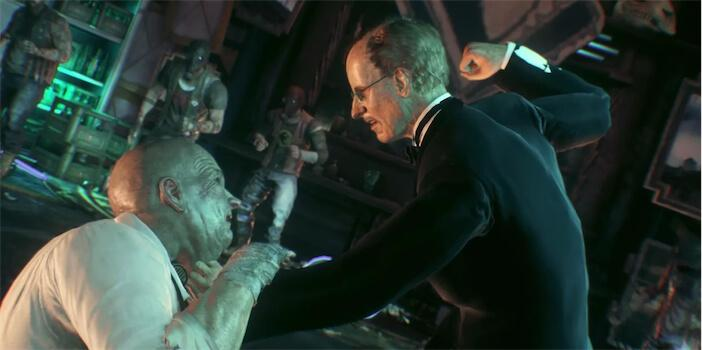 Arkham Knight allows us to play as Alfred