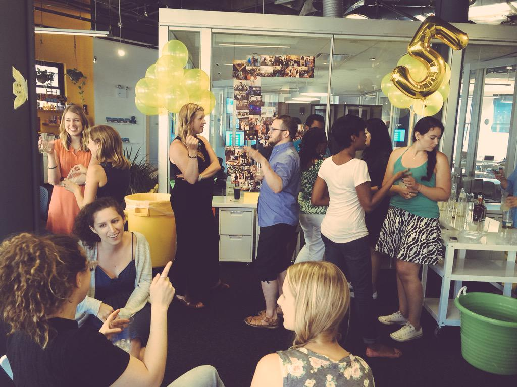 Happy 5 Years, @WixLounge! So glad to be a part of the family! We ❤️ @Wix! #FindSpark http://t.co/zbcqTpOPYr