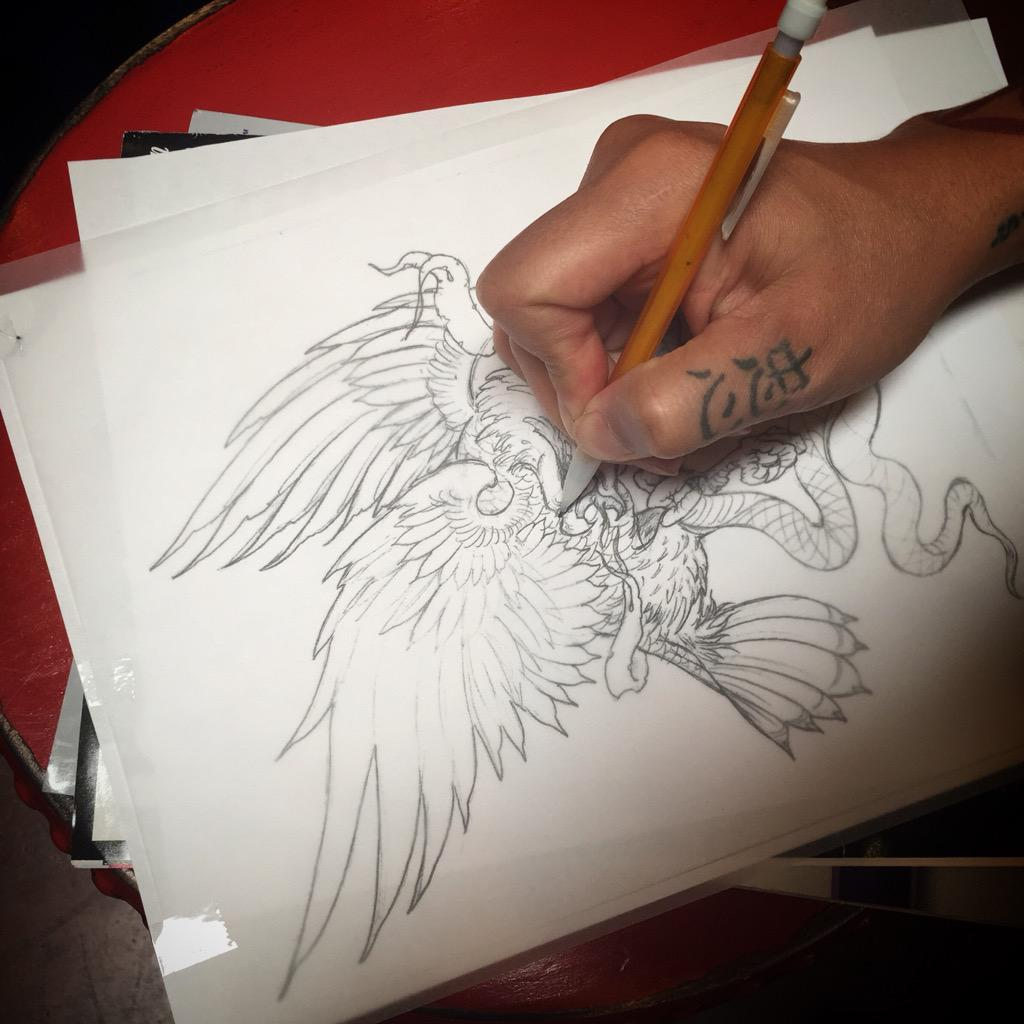 RT @HighVoltageTat: Drawing time with Khoi. http://t.co/cU2yE3BDzH
