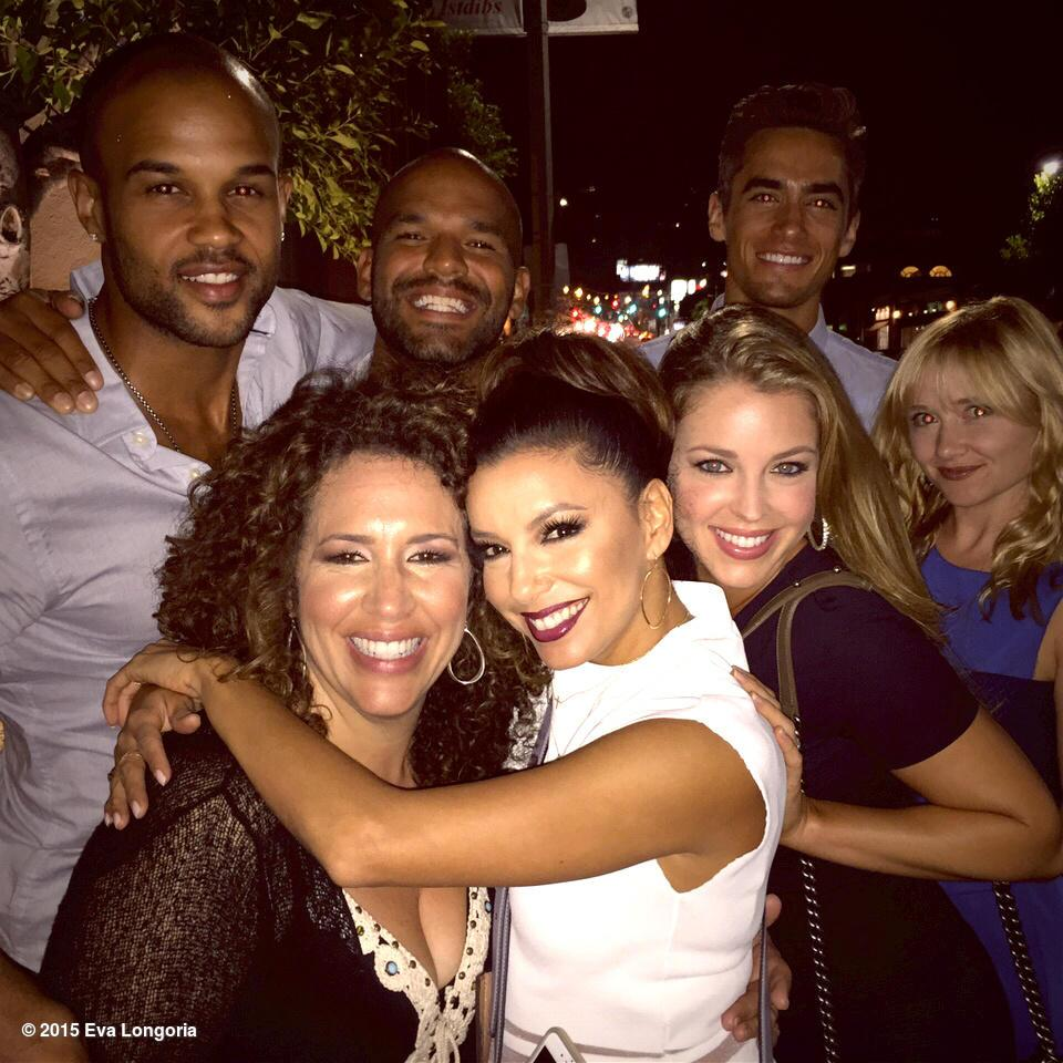 Fun night with the cast of #Hot&Bothered Coming soon to a TV near you! http://t.co/k6c4IEILnd