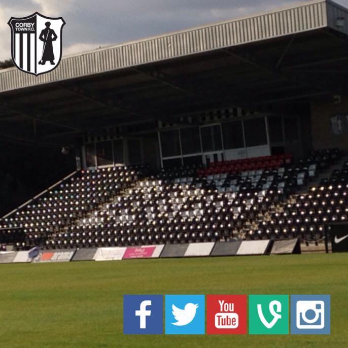 RT @corbytownfc: Eleven Play. Thousands Follow. Are you following us on FB, Twitter, YouTube, Vine and Instagram? #SocialMedia #Corby http:…