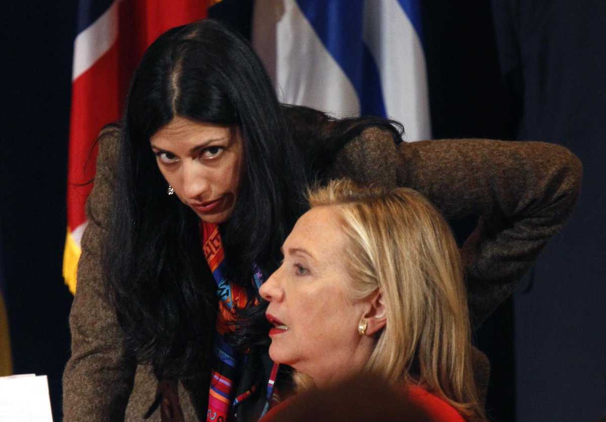Huma Abedin (Weiner wife) overpaid while at State with Hillary Clinton