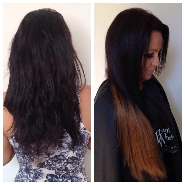 Luxe Extensions On Twitter Before And After La Weave Before Cut