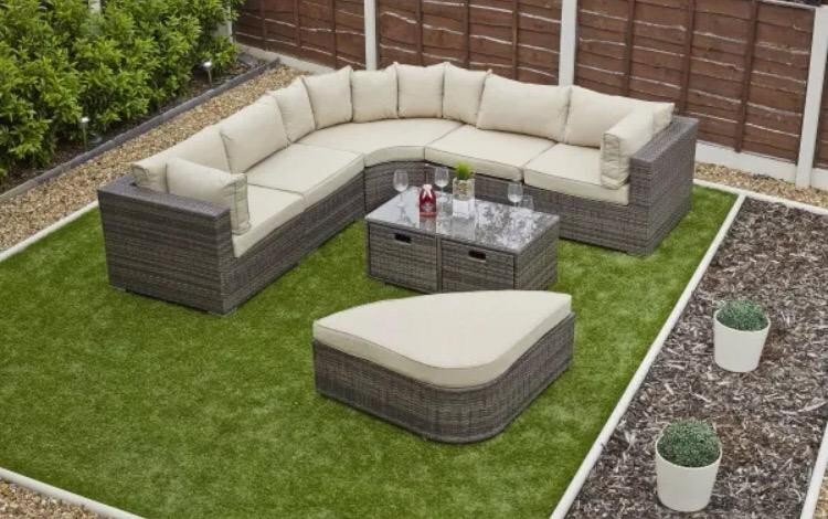 Amore Outdoors On Twitter Bargain Rattan Outdoor Garden Patio Furniture Conservatory Corner Daybed Sofa Set Http T Co Aflby1vbtb Http T Co Ejgsbo4spr