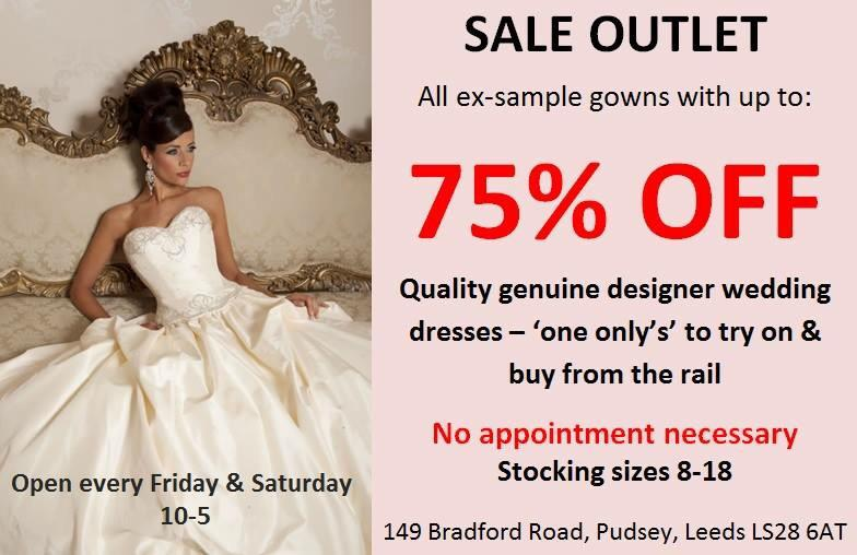 Confetti And Lace On Twitter Still Time For Weddingdress Bargain Hunters To Get Down Sale Outlet In Pudsey Welcometopudsey Leeds