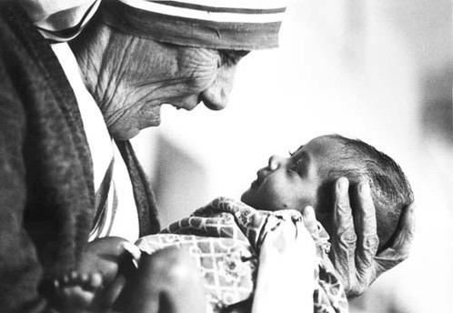 """Please don't kill the child. I am willing to accept any child who would be aborted."" - Mother Teresa #AnotherBoy http://t.co/PDwwVphKX5"