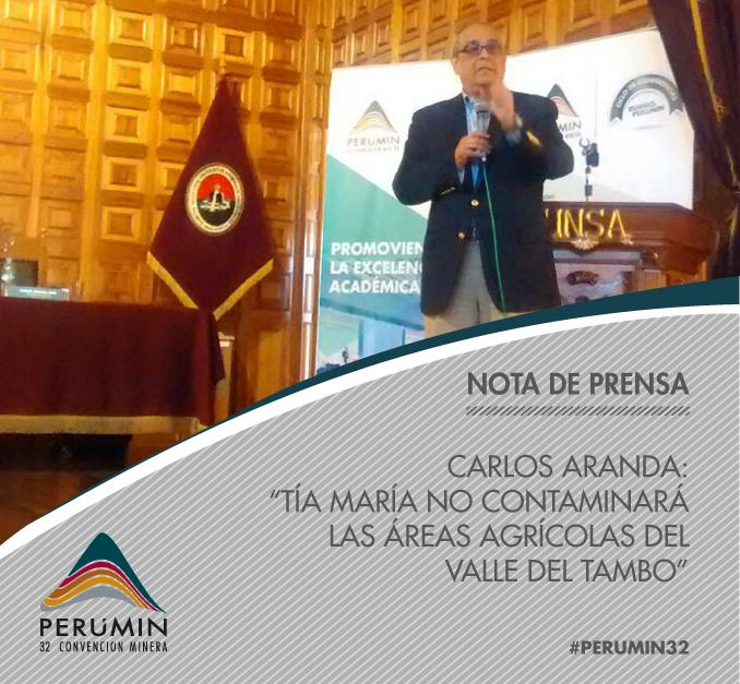 Thumbnail for ¡Carlos Aranda dictó conferencia magistral en Rumbo a PERUMIN!