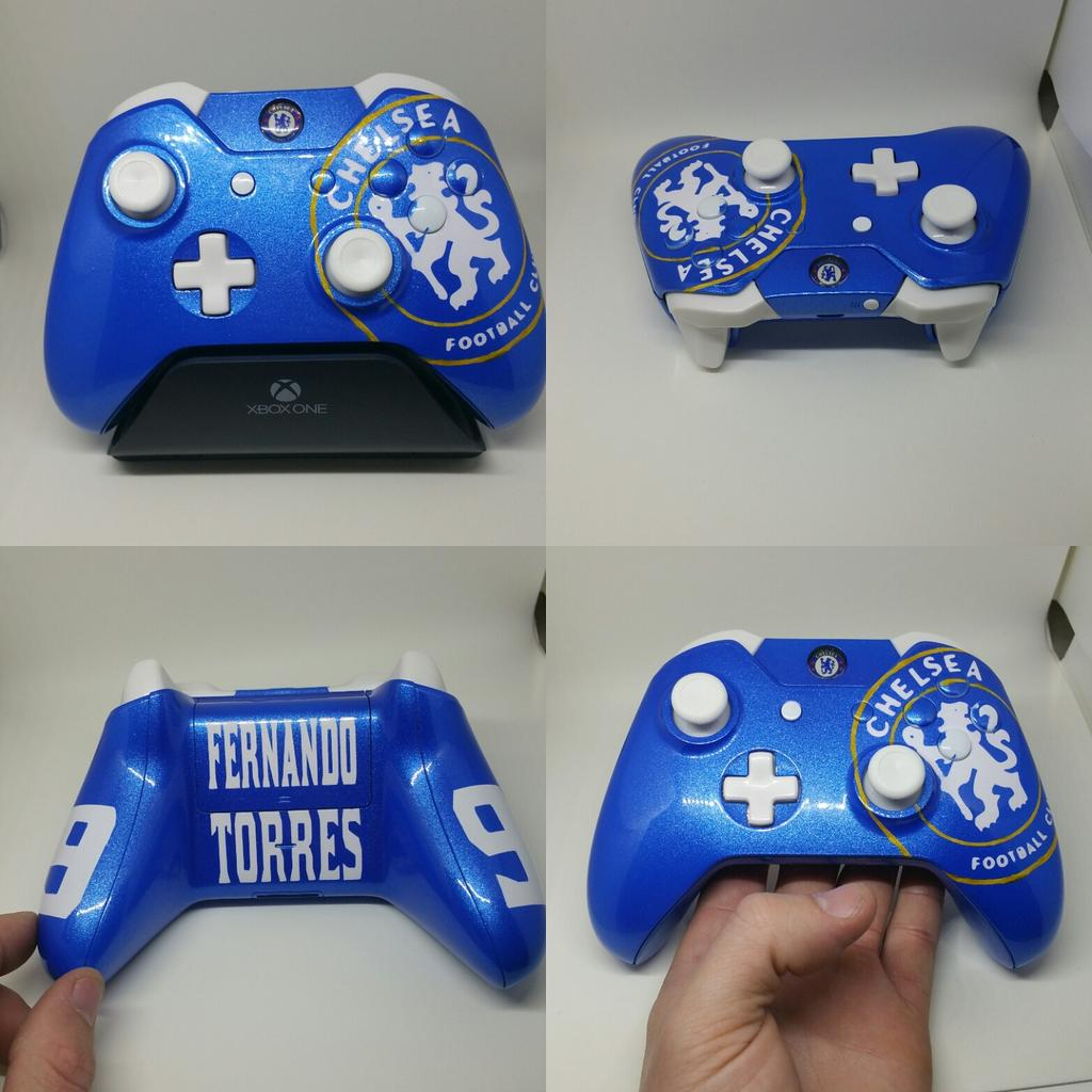 Firemans Kustoms On Twitter Chelsea Themed Xbox One Controller All Finished Xbox Chelseafc Chelsealfc Torres Http T Co Qa4leiyogd