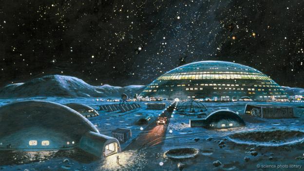 """L'Agenzia Spaziale Europea vuole una Base Lunare: """"creiamo un villaggio sulla Luna"""""""