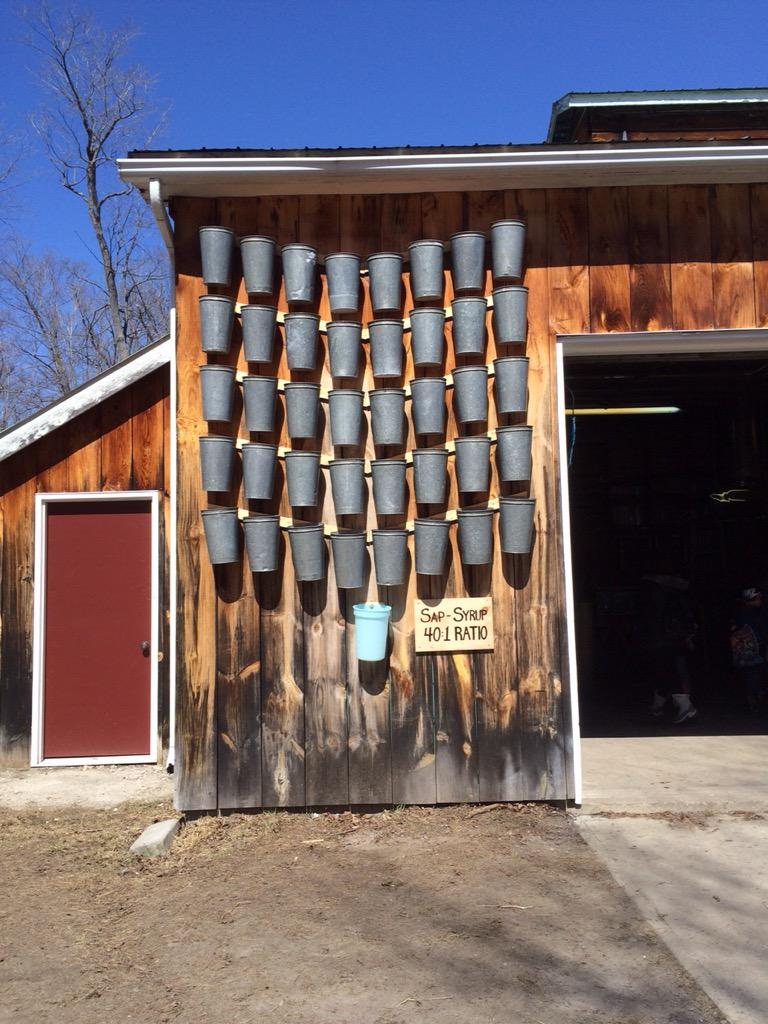 More #partwhole relationships in this maple sap to maple syrup ratio #mathphoto15 (not to mention a cool #array!) http://t.co/Nhkm1ND2Bm