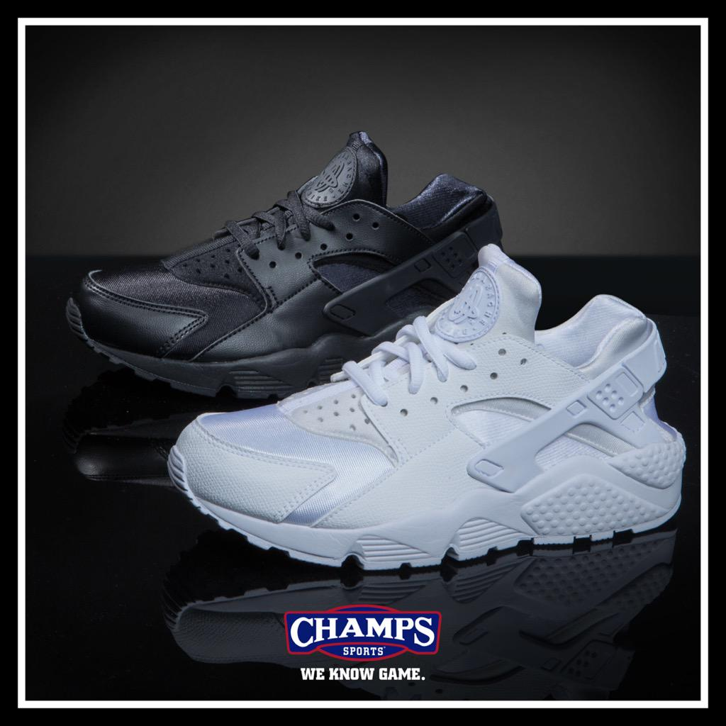 Nike Huarache is essential. White