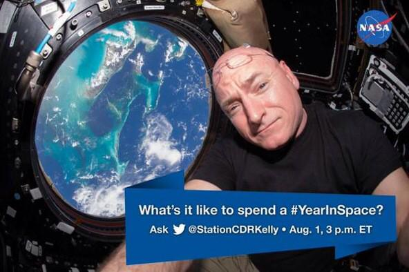 Thumbnail for What's it like to spend a #YearInSpace ?