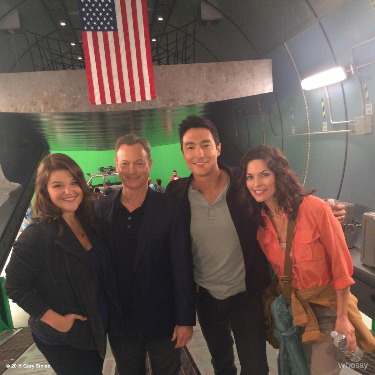 """Gary Sinise On Twitter: """"End Of Our First Week Of Shooting"""