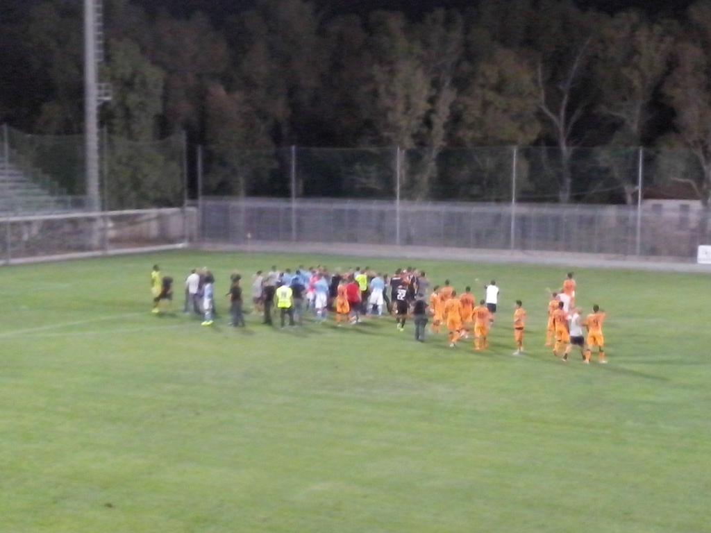 Sospesa per rissa in campo Cagliari vs Gazelec Ajaccio ad Olbia