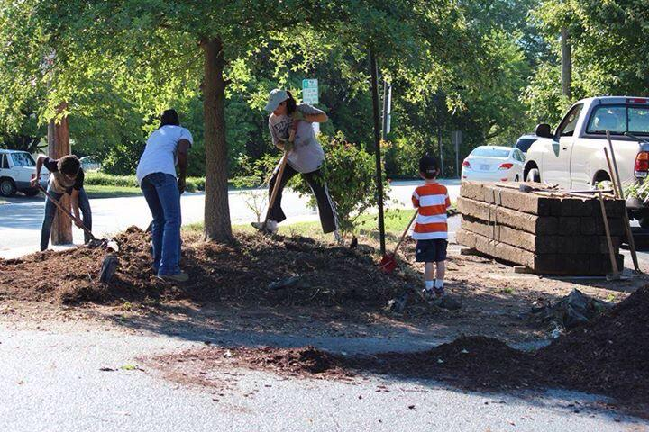 walter m williams on twitter on this hot saturday the garden fellowship spent the day beautifying our school thank you so much httptco0dakyexpbs - The Garden Fellowship