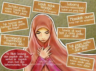 Gambar Hp On Twitter Dp Bbm Gambar Kartun Muslimah Berdoa Dilema