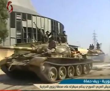 الدبابه T-62 السوريه ودورها في الحرب القائمه هناك  CLWtRVfUMAAxbvs