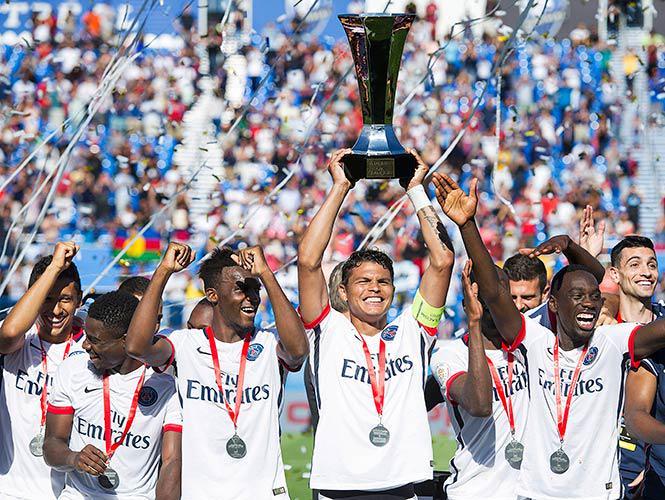 PSG vince Supercoppa di Francia: 2-0 al Lione in Canada