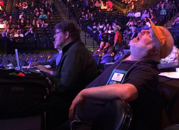 Waiting for Rousey's fight to start like…  #UFC190 http://t.co/i8Mqydh3dJ