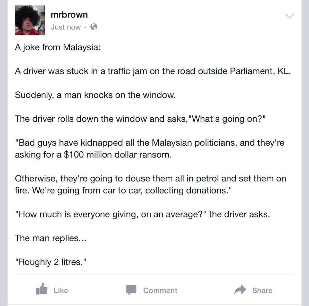A joke from Malaysia. http://t.co/Hh5jYTE03N